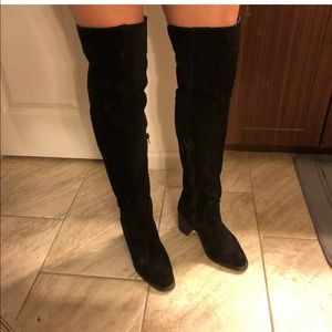 Jeffrey Campbell Over the knee boots 8.5 suede